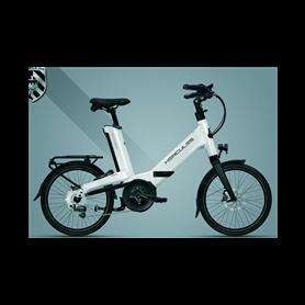 Hercules Futura Fold I-10 E-Folding bike 2020 white shiny frame size 52 cm