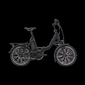 Hercules Rob Fold Carbon E-Faltrad 2020 20 Zoll 500 Wh schwarz matt RH 46 cm
