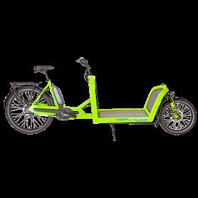 Hercules Cargo 500 E-Cargo bike 2020 26 inch 500 Wh green shiny frame size 51 cm