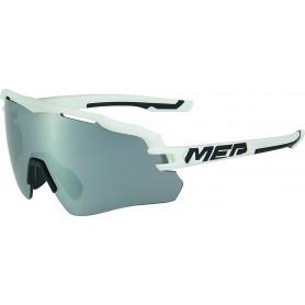 Merida Sonnenbrille Race Einheitsgröße weiß schwarz