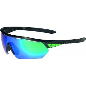 Merida Sonnenbrille Sport Einheitsgröße schwarz grün