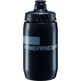 Merida Trinkflasche Stripe schwarz grau 500ml