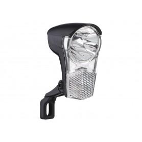 Büchel LED headlight Uni LED black 15 Lux