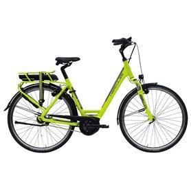 Hercules E-Joy F7 E-Cargo bike 2020 28 inch 400 Wh green shiny frame size 53 cm