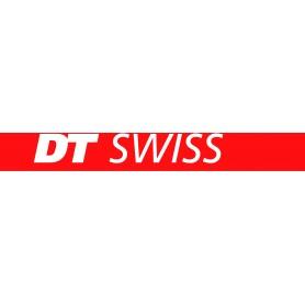 DT Swiss Aufkleber DT Swiss 66 x 10 mm rot