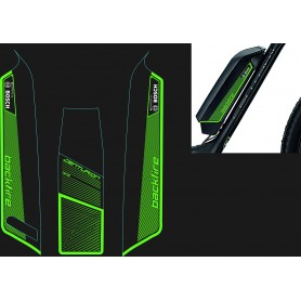 Centurion Aufkleber-Set Backfire E 600 2016 grün