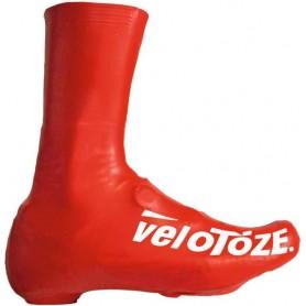 VeloToze Überschuh 2.0 lang rot S Rot