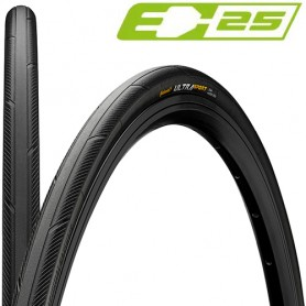 Continental 28-622 Ultra Sport 3 E-25 black black skin foldable