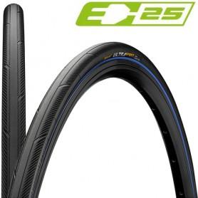 Continental 25-622 Ultra Sport 3 E-25 black blue skin foldable