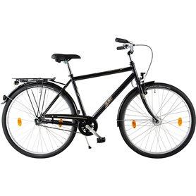 BBF Sports bike Oslo Men 28 inch 2020 black frame size 55 cm