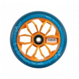 PU-Rolle sk8te4u 0815 Wheels Rolle 120mm, per Stück orange