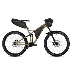 Ghost Hamr X9.7 ALU MTB 2018 27.5 inch tan riot red night black size S