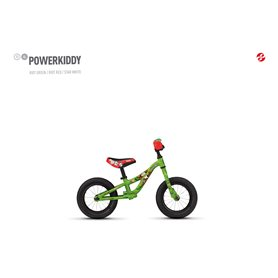 Ghost Powerkiddy AL 12 K Kids bike 2020 12 inch riot green RH 16.5 cm