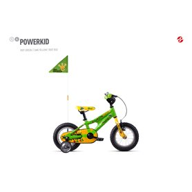 Ghost Powerkid AL 12 K Kids bike 2020 12 inch riot green RH 18 cm