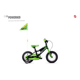 Ghost Powerkid AL 12 K Kids bike 2020 12 inch night black RH 18 cm