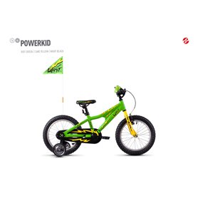 Ghost Powerkid AL 16 K Kids bike 2020 16 inch riot green RH 23 cm