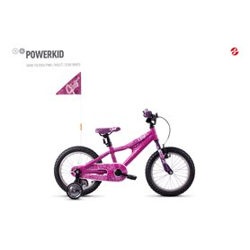 Ghost Powerkid AL 16 K Kids bike 2020 16 inch dark fuchsia pink RH 23 cm