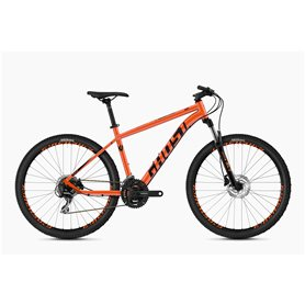 Ghost Kato 2.7 AL U MTB 2020 27.5 inch monarch orange jet black size XS (38 cm)