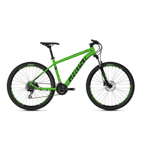 Ghost Kato 3.7 AL U MTB 2020 27.5 inch riot green night black size M (46 cm)