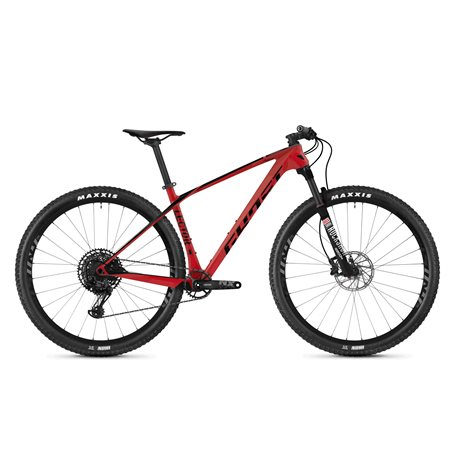 Ghost Lector 3.9 LC U MTB 2020 29 inch riot red jet black size XS (38 cm)