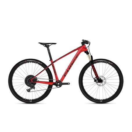 Ghost Lector 1.6 LC U MTB 2020 26 inch riot red jet black size XS (38 cm)