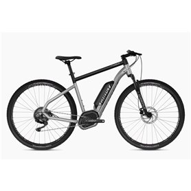 Ghost Hybride Square Cross B2.9 AL U E-Bike 2020 iridium silver Größe S (47 cm)