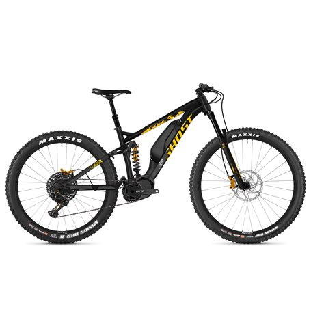 Ghost Hybride Slamr S3.7+ AL U E-Bike 2019 night black size S (39 cm)
