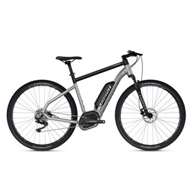 Ghost Hybride Square Cross B2.9 AL U E-Bike 2019 iridium silver size L (57 cm)