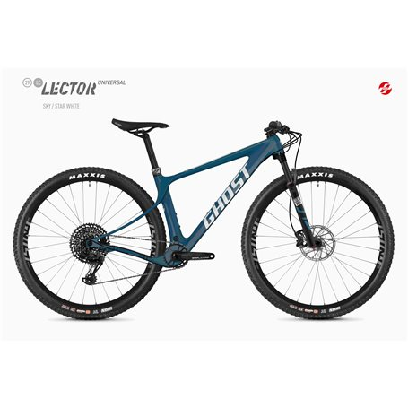 Ghost Lector SF LC Universal MTB 2020 29 inch sky star white size L (46.5 cm)