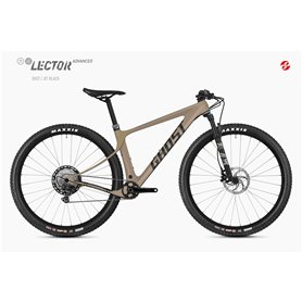 Ghost Lector SF LC Advanced MTB 2020 29 inch dust jet black size S (42 cm)