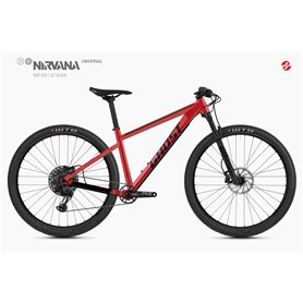 Ghost Nirvana Tour SF Universal MTB 2020 29 inch riot red size L (46.5 cm)