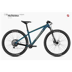 Ghost Nirvana Tour SF Advanced MTB 2020 27.5 inch sky size XS (39 cm)