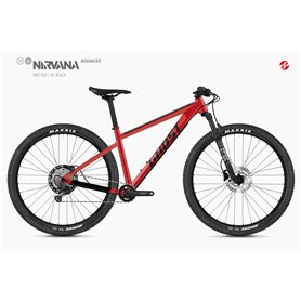 Ghost Nirvana Tour SF Advanced MTB 2020 27.5 inch riot red size S (42 cm)
