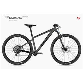 Ghost Nirvana Tour SF Advanced MTB 2020 27.5 inch rock size S (42 cm)