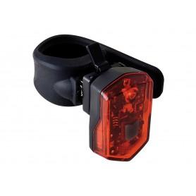 Büchel LED-battery rear light recharge Micro Light black