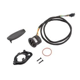 Bosch Kit Ladebuchse PowerTube, inkl. Kabel 680 mm 1.270.016.512, Halter 1.270.015.654, Abdeckkappe 1.270.016.725, 2 x Senksch