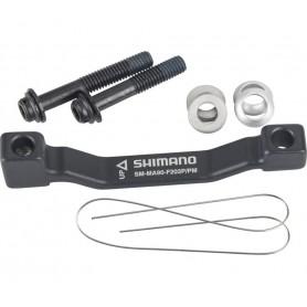 Scheibenbrems-Adapter XTR, Vorne o. hinten, PM, PM (180 mm), 203 mm, Mit Schraub