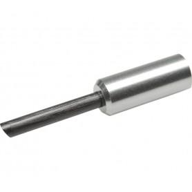 Endkappe Bremszugaußenhülle BC-9000 mit Spitze, 5 mm, Aluminium, Silber, 1 Stk.
