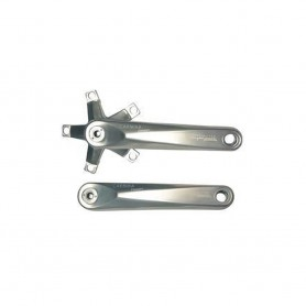 TA crank arms Carmine Compact LK110 double square ISO length: 180mm