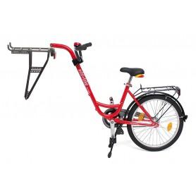 Roland Trailer add + bike mit 3-Gang Nabenschaltung Farbe rot