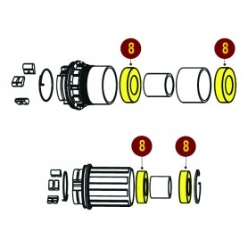 Sunringle ball bearings for SRC SRX and SRC Comp 6902