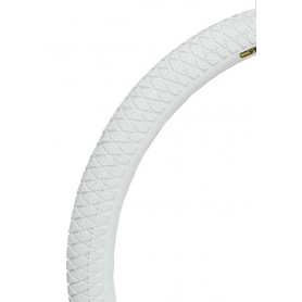 """Tire QU-AX for unicycle 20x1.95 """"white 20x1.95 white 2047"""