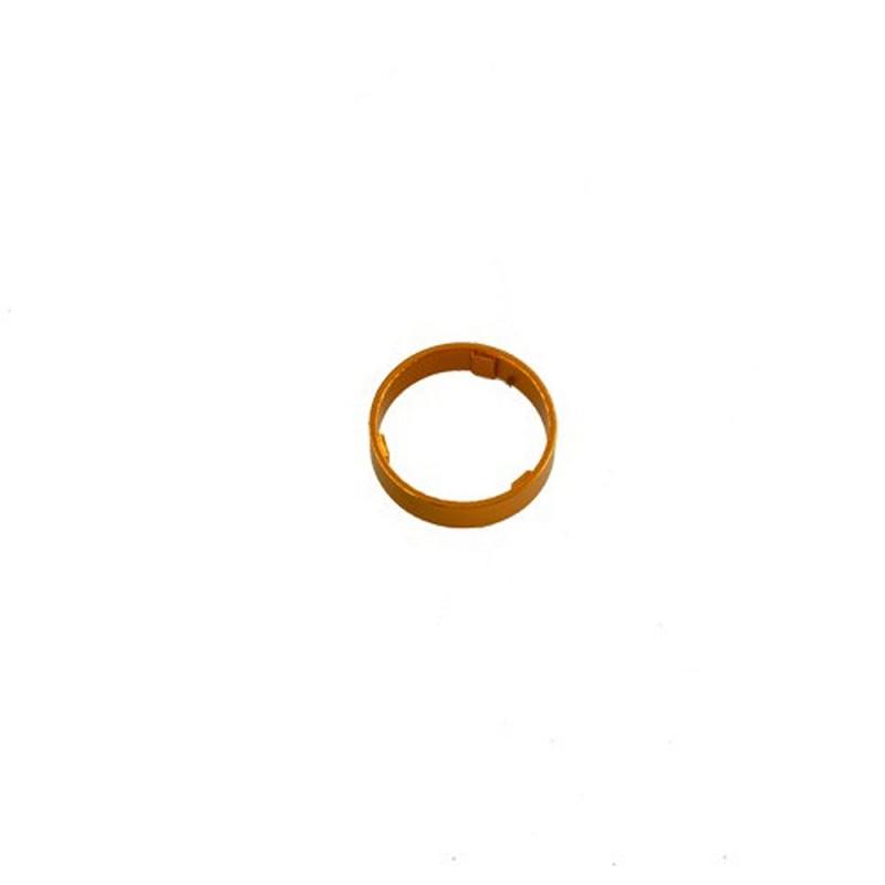 Spacer 10 mm anodisiert für Single Speed Naben silber OEM