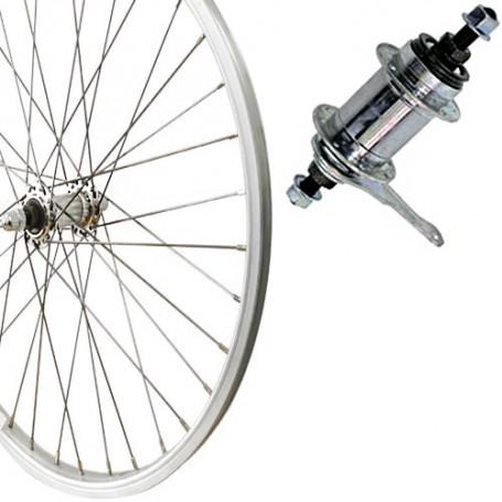 "Fahrradteile & -komponenten Roland Hinterrad Radsport 28"" - RBN - Rücktritt - silber"