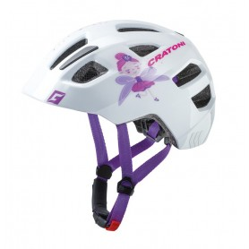 Cratoni bike helmet Maxster Kid size S/M 51-56cm fairy white