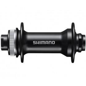 Shimano front-wheel hub HB-MT400-B Centerlock 32 hole QR axle 15mm 110mm