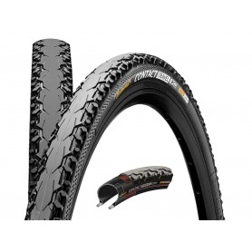 Continental CONTACT Travel bicycle tyre 47-559 Duraskin E-25 black foldable
