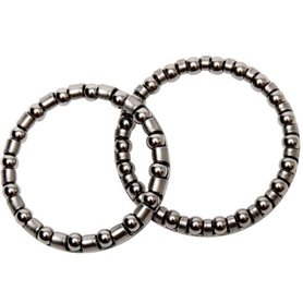 Longus Ball bearing rings 1-1/8 inch for headset 5/32 inch set of 10
