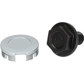 Shimano crank fixing screw for FC-6000 silver incl. cover cap