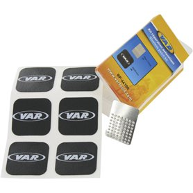 VAR tube patches RP-44100-C self adhesive 6 patches & sand paper